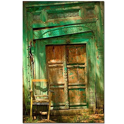 Trademark Fine Art AIANA 'Temple Door' Canvas Art 14x19 Inches