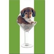 Trademark Fine Art Wienie Tini 2 by Gifty Idea Greeting Cards and Such!R