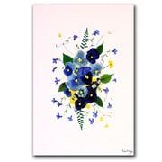 Trademark Fine Art Vivacious Violas by Kathie McCurdy Canvas Art