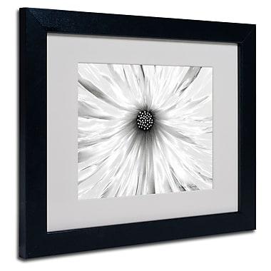 Trademark Fine Art Kathie McCurdy 'White Garden' Matted Framed Art