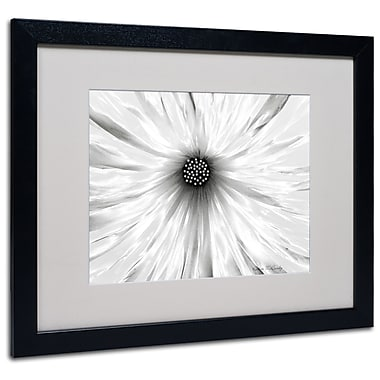 Kathie McCurdy 'White Garden' Matted Framed Art - 11x14 Inches - Wood Frame