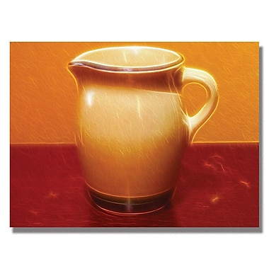 Trademark Fine Art Kathie McCurdy 'Pitcher' Canvas Art 18x24 Inches