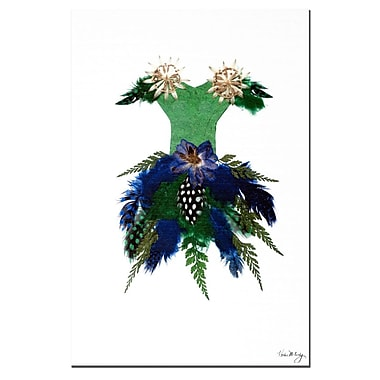 Trademark Fine Art Thumbellina Blue Bell Ball by Kathie McCurdy Art