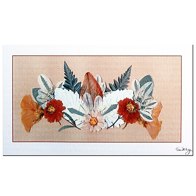 Trademark Fine Art Kathie McCurdy 'Apple Blossoms' Canvas Art