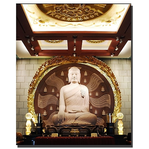 Trademark Fine Art Buddha by Kurt Shaffer-Gallery Wrapped