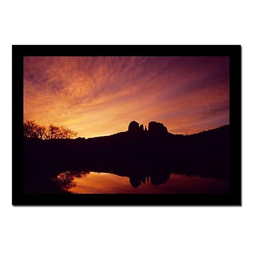 Trademark Fine Art Sedona Sunrise by Kurt Shaffer-Canvas Ready to Hang