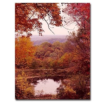 Trademark Fine Art Kurt Shaffer 'The Cuyahoga Valley' Canvas Art 14x19 Inches