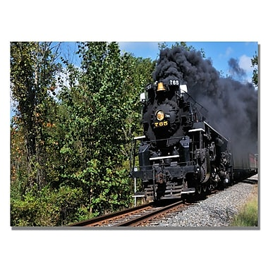 Trademark Fine Art Kurt Shaffer 'Old Cuyahoga Valley Line' Canvas Art 22x32 Inches