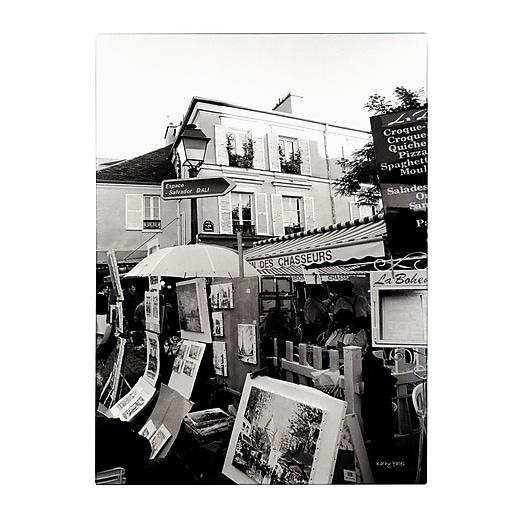 Trademark Fine Art Kathy Yates 'Montmartre' Canvas Art 16x24 Inches