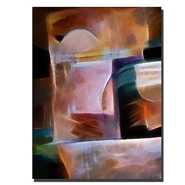 Trademark Fine Art Shimmery by Adam Kadmos-Ready to Hang 18x24 Inches