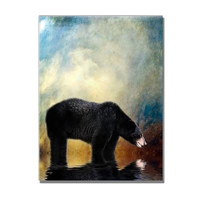 Trademark Fine Art Lois Bryan 'Little Boy Lost' Canvas Art 18x24 Inches