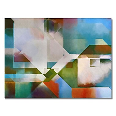 Trademark Fine Art Adam Kadmos 'Cubic Town' Canvas Art 18x24 Inches