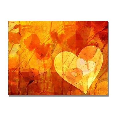 Trademark Fine Art Adam Kadmos 'Love Message' Canvas Art 18x24 Inches