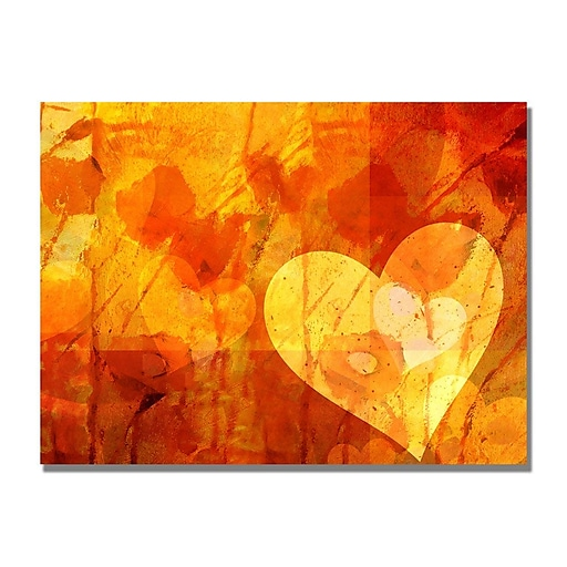 Trademark Fine Art Adam Kadmos 'Love Message' Canvas Art 18x24 Inches