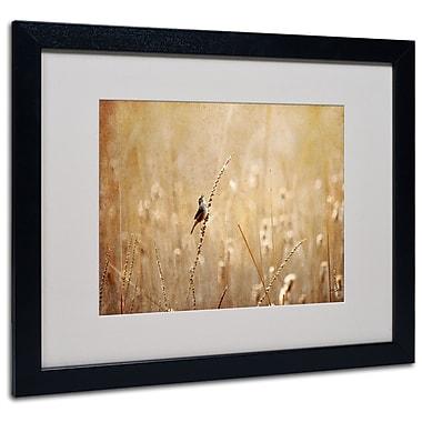 Lois Bryan 'Joyful Joyful All Rejoicing' Matted Framed Art - 11x14 Inches - Wood Frame