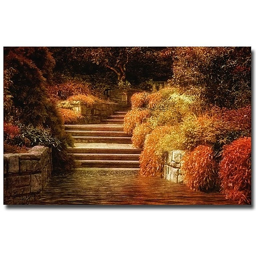Trademark Fine Art Lois Bryan 'Rivendel' Canvas Art 30x47 Inches