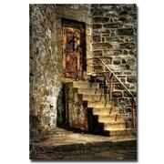 Trademark Fine Art Lois Bryan 'The Locked Door' Canvas Art