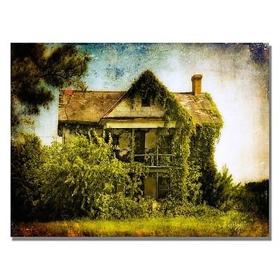 Trademark Fine Art Lois Bryan 'Ivy House' Canvas Art 30x47 Inches