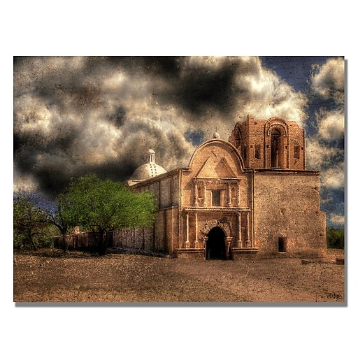 Trademark Fine Art Lois Bryan 'Cathedral' Canvas Art 18x24 Inches