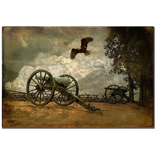 Trademark Fine Art Lois Bryan 'Gettysburg' Canvas Art 22x32 Inches