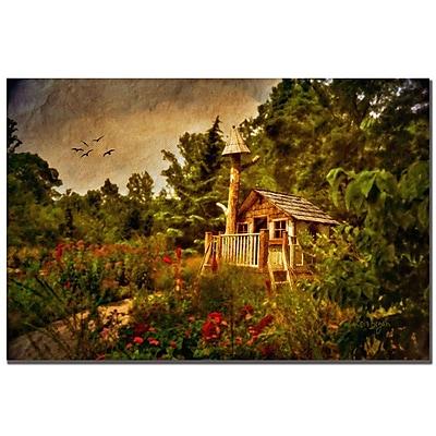 Trademark Fine Art Lois Bryan 'The Shire' Canvas Art 16x24 Inches