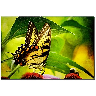 Trademark Fine Art Lois Bryan 'Dining with a Friend' Canvas Art