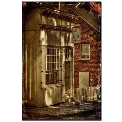 Trademark Fine Art Lois Bryan 'The Olde Apothecary Shop' Canvas Art
