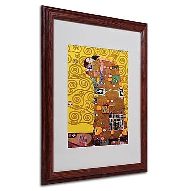 Trademark Fine Art Gustav Klimt 'Fulfillment' Canvas Art 24x32 Inches