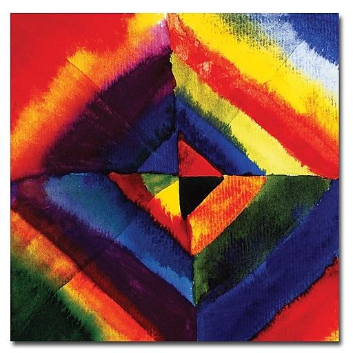Trademark Fine Art Wassily Kandinsky 'Color Study' Canvas Art 24x24 Inches