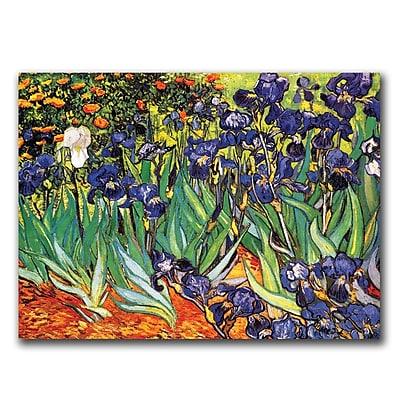 Trademark Fine Art Claude Monet's Water Lilies,1914 Canvas Art