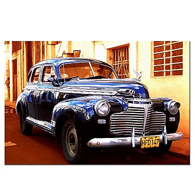 Trademark Fine Art 1941 Chevy Deluxe-Gallery Wrapped 16x24 Inches