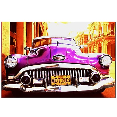 Trademark Fine Art 1952 Buick Special Sedan-Gallery Wrapped 16x24 Inches