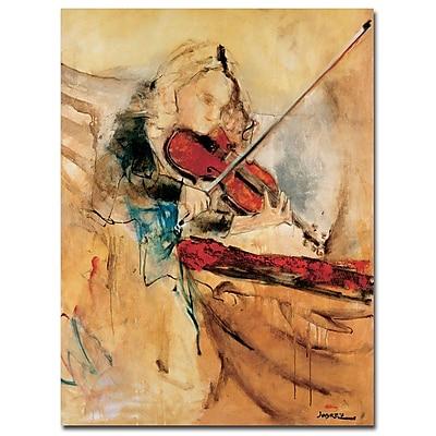 Trademark Fine Art Joarez 'Amazing Touch' Canvas Art 14x19 Inches