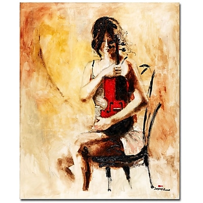 Trademark Fine Art Joarez 'Divine Melody' Canvas Art 26x32 Inches