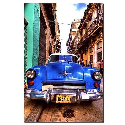 Trademark Fine Art Alberto 'A Morning in Havana'' Canvas Art