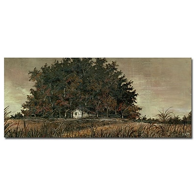 Trademark Fine Art Gustavo 'Memorias Pasadas' Canvas Art 14x32 Inches