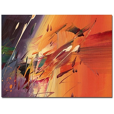 Trademark Fine Art Ricardo Tapia 'Speed' Canvas Art 24x32 Inches