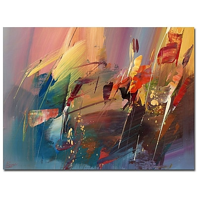 Trademark Fine Art Ricardo Tapia 'Garden' Canvas Art 24x32 Inches
