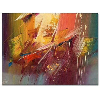 Trademark Fine Art Ricardo Tapia 'Freedom' Canvas Art 35x47 Inches