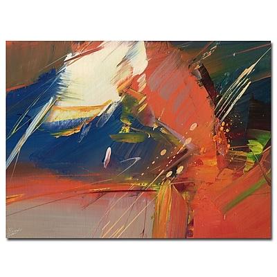 Trademark Fine Art Ricardo Tapia 'Presence' Canvas Art 24x32 Inches