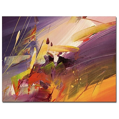Trademark Fine Art Ricardo Tapia 'Midnight' Canvas Art 24x32 Inches