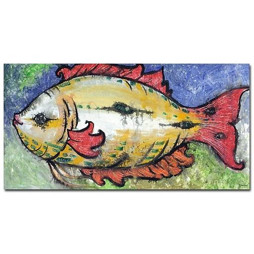 Trademark  Fine  Art Yonel 'Date Night' Canvas Art 18x32 Inches
