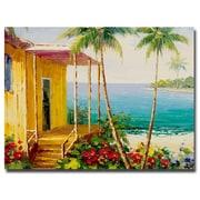 Trademark Fine Art Rio 'Key West Villa' Canvas Art 35x47 Inches
