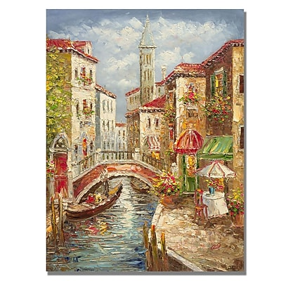 Trademark Fine Art Rio 'Venice' Canvas Art 35x47 Inches