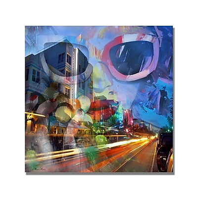 Trademark Fine Art 'South Beach II' Canvas Art 18x18 Inches