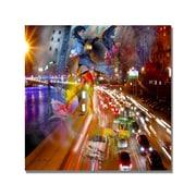 Trademark Fine Art 'Traffic' Canvas Art