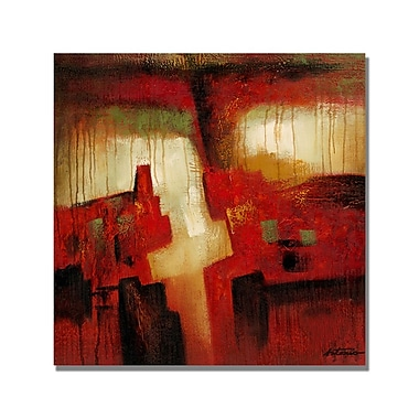 Trademark Fine Art 'Antonio Abstract I' Canvas Art 18x18 Inches