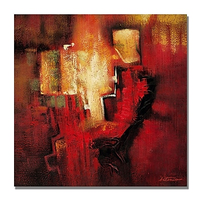 Trademark Fine Art 'Antonio Abstract II' Canvas Art 18x18 Inches