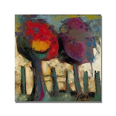 Trademark Fine Art 'Boyer Crimson Night' Canvas Art