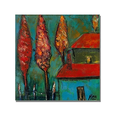 Trademark Fine Art 'Boyer Enchanted Forest' Canvas Art